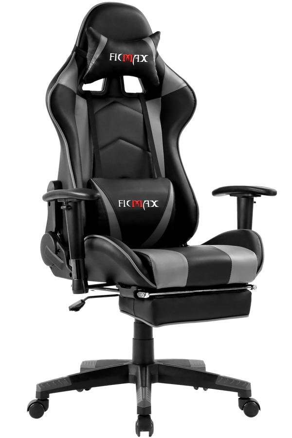 Pre-Order Ficmax Gaming Chair FX S Series White/Pink, Purple and Grey