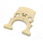 Cello Bridge 1/2 Size - Wooden Blank Bridge