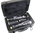Holiday Sale E.F. Durand Clarinet Black w/Nickel Keys and Case