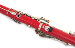E.F. Durand Clarinet Red w/Nickel Keys and Case