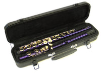 E.F. Durand Flute C Key Purple w/Gold Keys & Case FL-650P