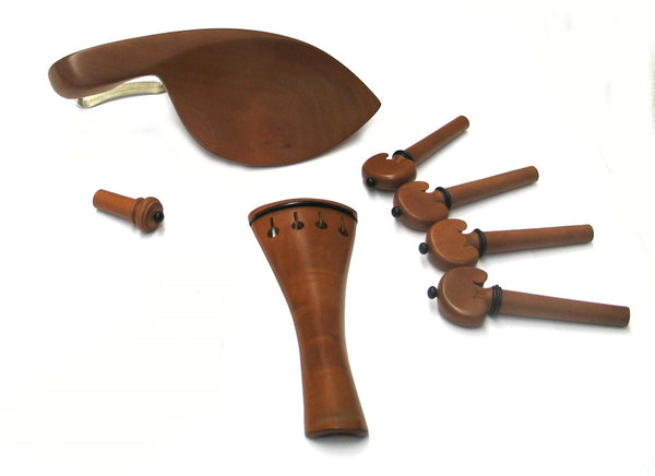 Violin Fitting Set 4/4 Size Datewood w/Ebony #2