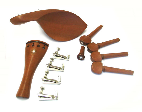 Violin Fitting Set 4/4 Size Datewood w/Mother of Pearl #6
