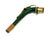 Alto Saxophone Sax Neck Replacement w/Green Finish