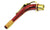 Alto Saxophone Sax Neck Replacement w/Red Finish