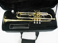 Trumpet Bb w/Brass Finish and Case