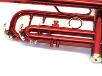 Holiday Sale Trumpet Bb w/Red Finish and Case