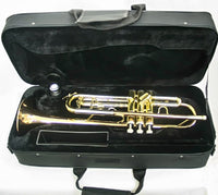 Trumpet Bb w/Tuning Slide Valve Trigger w/Tri-Color Finish and Case