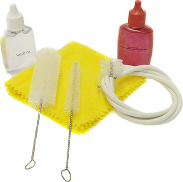 Trumpet Care Kit w/Valve Oil & Brushes
