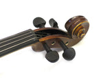 Helmke Left Handed 1/4 Child Size Antique Finish Violin Set w/Case and Bow