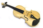 Helmke 4/4 Size Natural Finish Violin Set w/Case and Bow