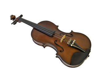 Holiday Sale Helmke 4/4 Size Glossy Finish Violin Set w/Case and Bow