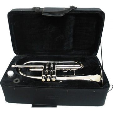 E.F. Durand Nickel Bb Piston Valve Flugelhorn