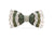 Brackish Feather Bow Tie - Peck