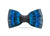 Brackish Feather Bow Tie - Midnight
