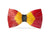Brackish Feather Bow Tie - Starfire