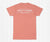 Southern Marsh SEAWASH™ Tee - Waves - Coral