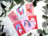 VALENTINES for the self & others// Pack of 6 illustrations