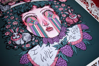 LIMITED EDITION ~ I WILL BE GOOD 11x14 Cotton Rag Print