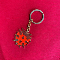 STRAWBERRY MACE keychain