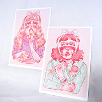CYNICAL/FOOL 4x6 Pack of 2 Prints