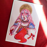 BLOODLETTING 5x7 Print