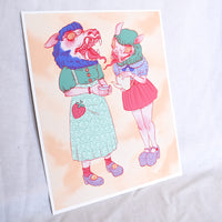 TOSHOGU TEA PARTY 8x10 Print