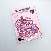Mini Cute Nihilist Sticker Pack