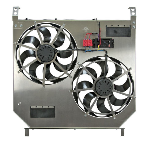 FLEX-A-LITE 274 DIRECT-FIT DUAL ELECTRIC FANS W/ VARIABLE CONTROLLER