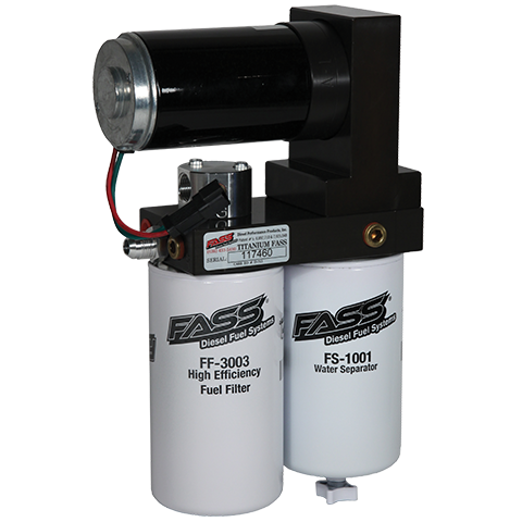 TITANIUM SERIES DIESEL FUEL LIFT PUMP 220GPH@55PSI FORD POWERSTROKE 7.3L AND 6.0L 1999-2007