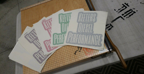 KEETER'S DIESEL PERFORMANCE DECALS