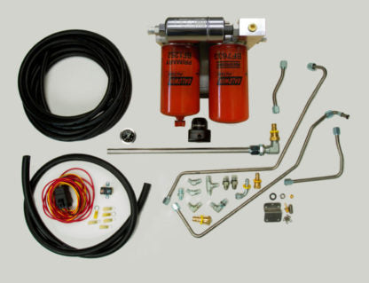 99-03 IDP fuel system (Includes regulated return) NOW WITH NEW BILLET FILTER AND PUMP BASE!