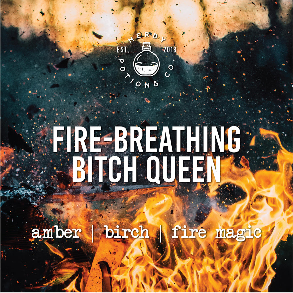 Fire-Breathing Bitch Queen Pure Essential Oil Potion - Throne of Glass