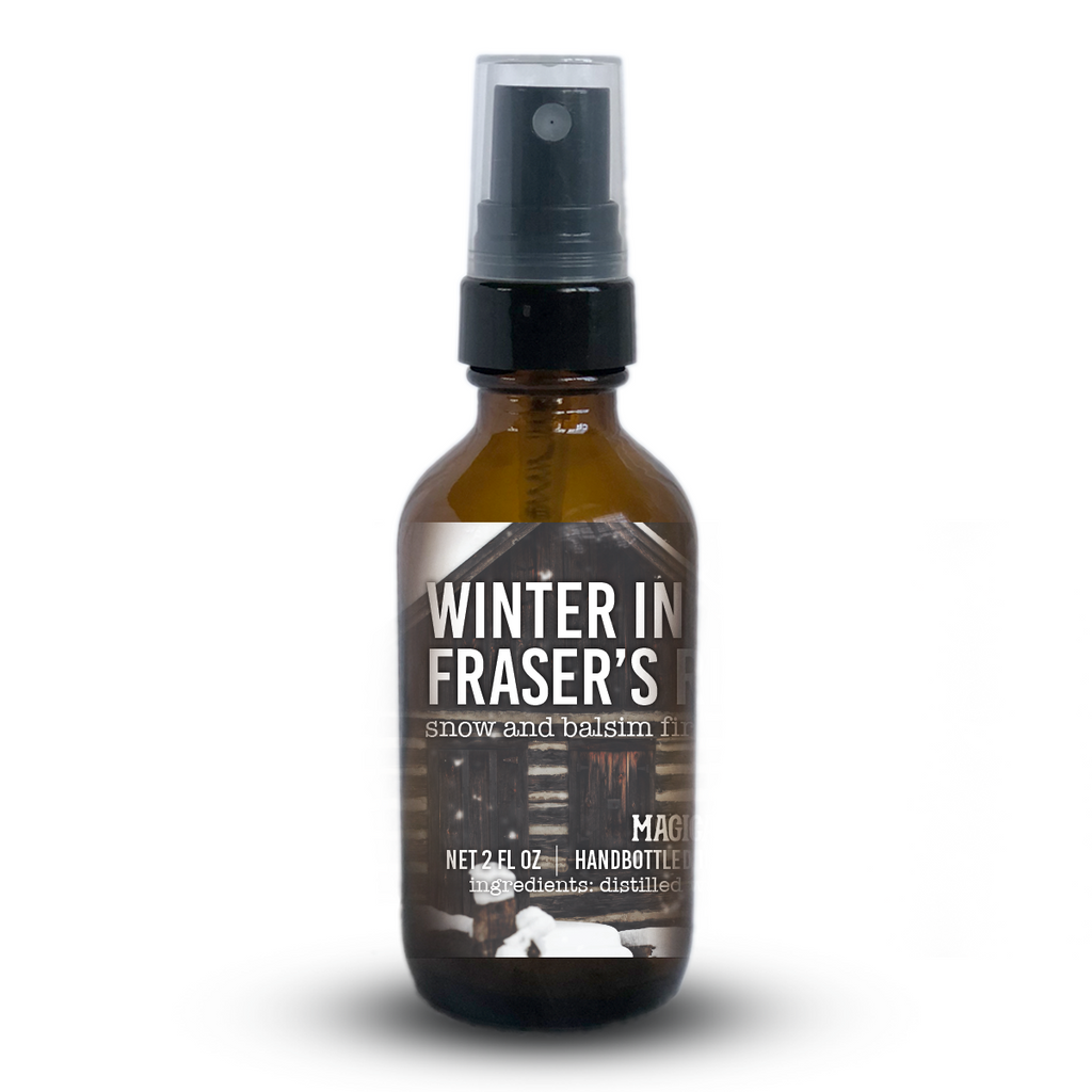 Winter in Fraser's Ridge Essential Oil Room Spray - Outlander
