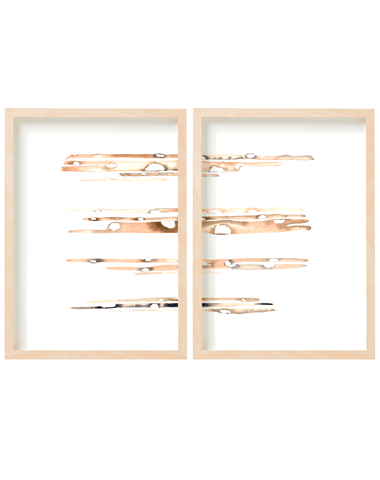 Bam Diptych Vertical with frame