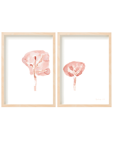 INKT T DIPTYCH  SET OF 2 ART PRINTS
