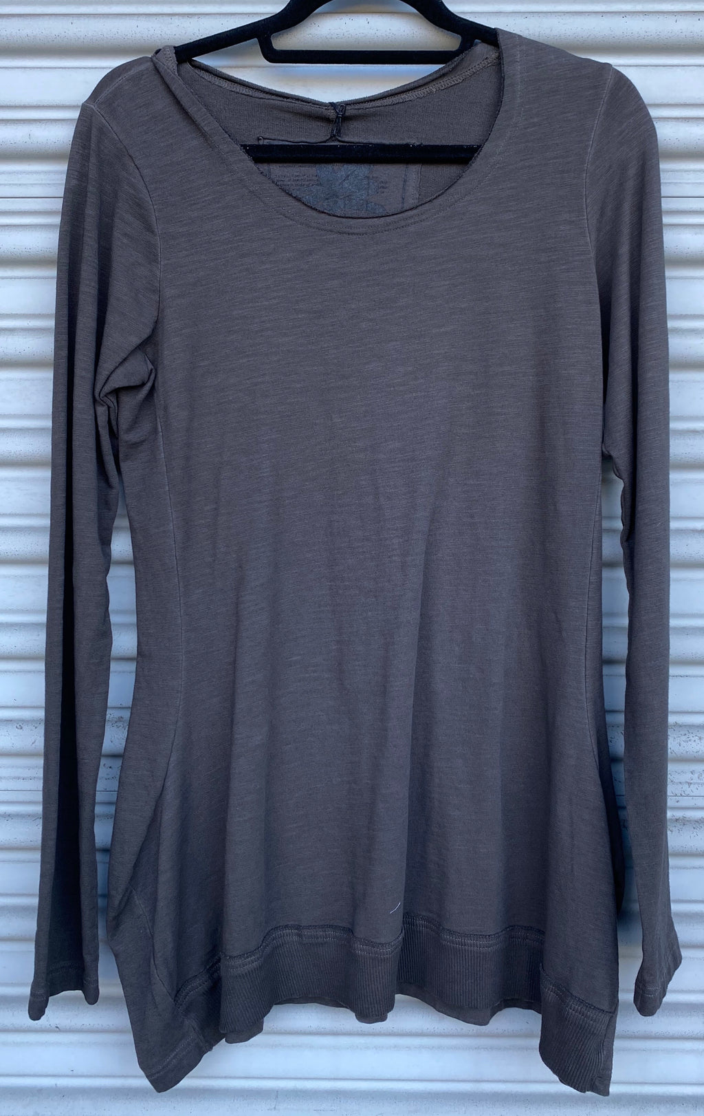 RUNDHOLZ - ASH GREY LONG SLEEVE TEE