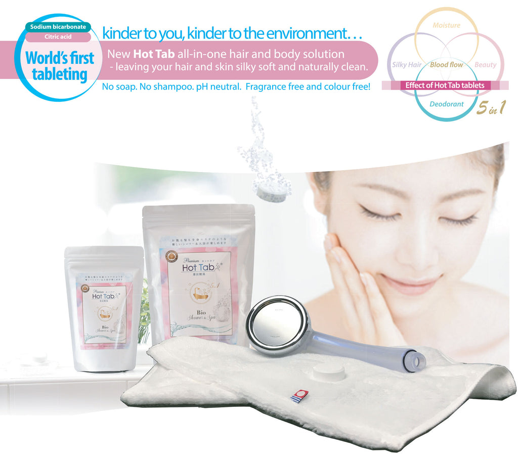 Hot Tab eco Shower Tablets