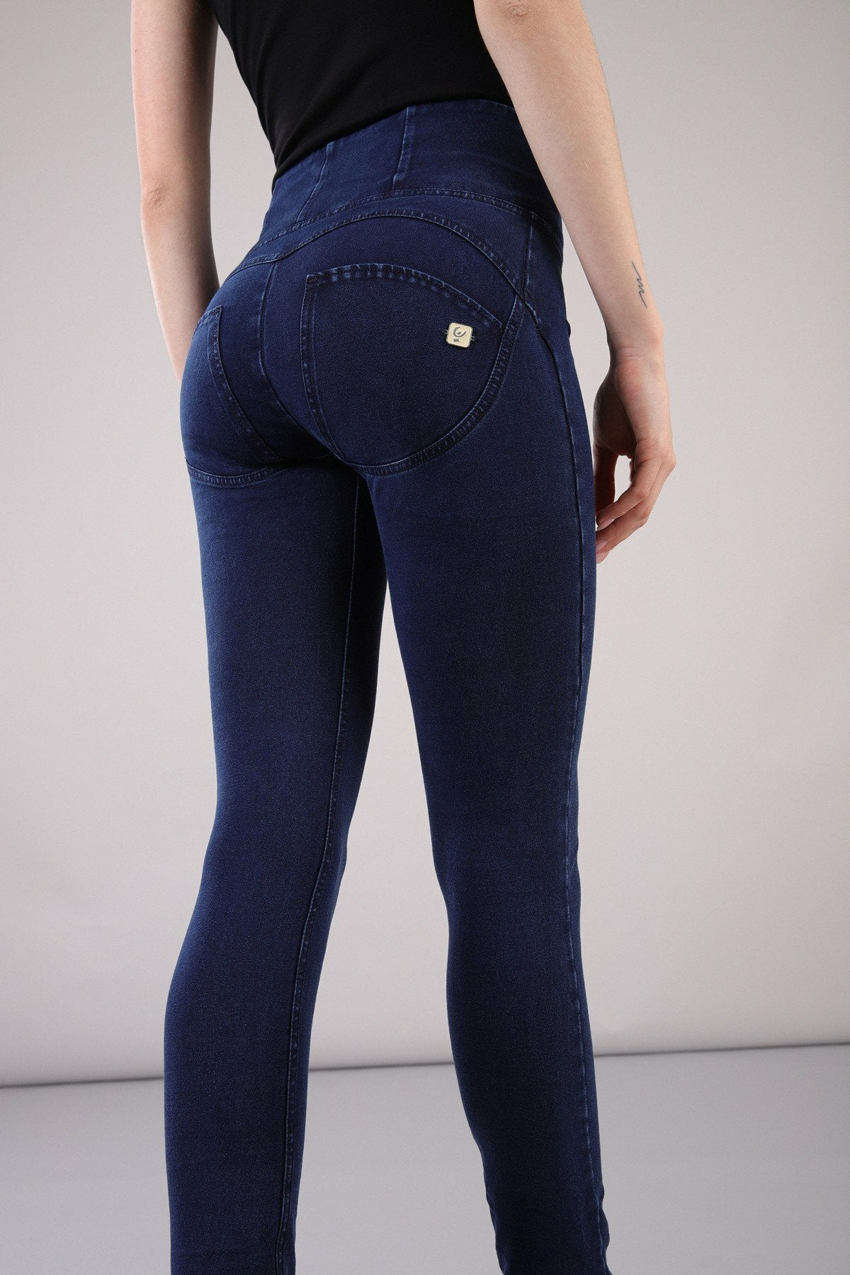 Dark Denim High Waist Freddy