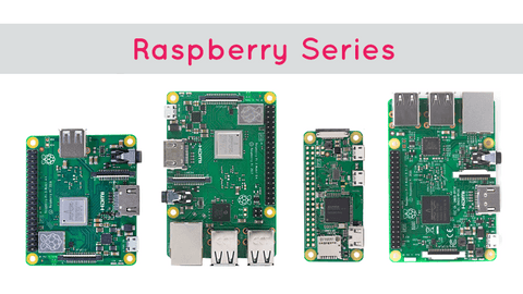 Types of Raspberry Pi