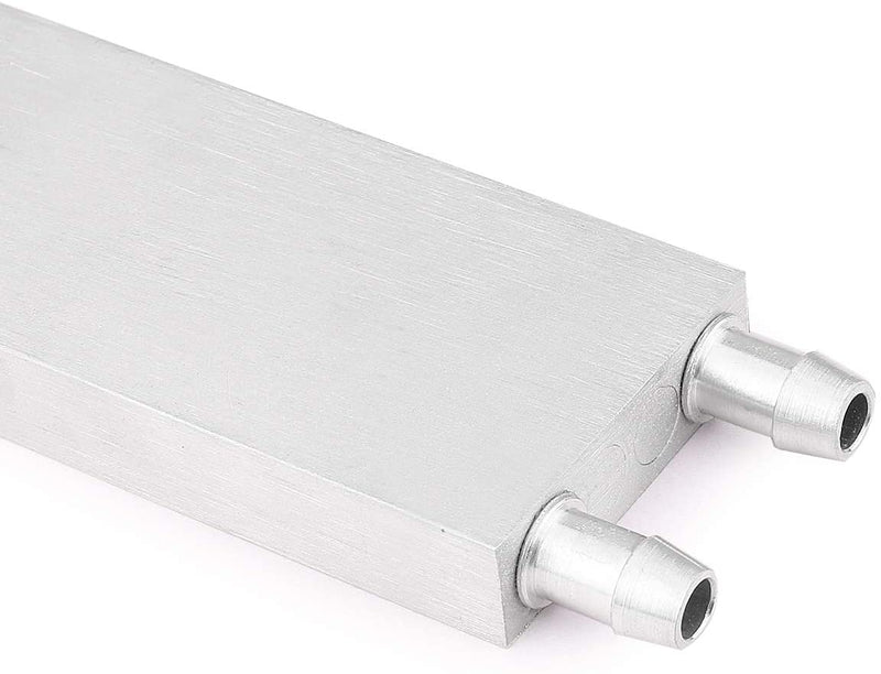 40x200 mm Aluminium Water Cooling Block/Container/Head/Plate for CPU Radiator HeatSink and DIY projects