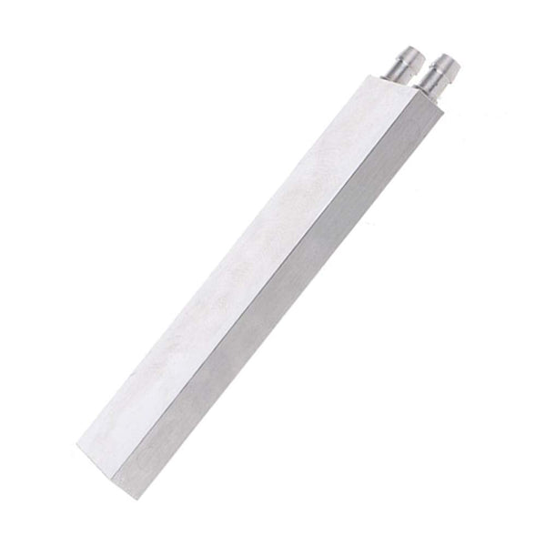40x160 mm Aluminium Water Cooling Block/Container/Head/Plate for CPU Radiator HeatSink and DIY projects