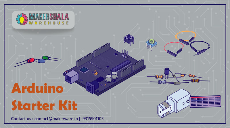 Arduino Uno Starter Kit for Beginners