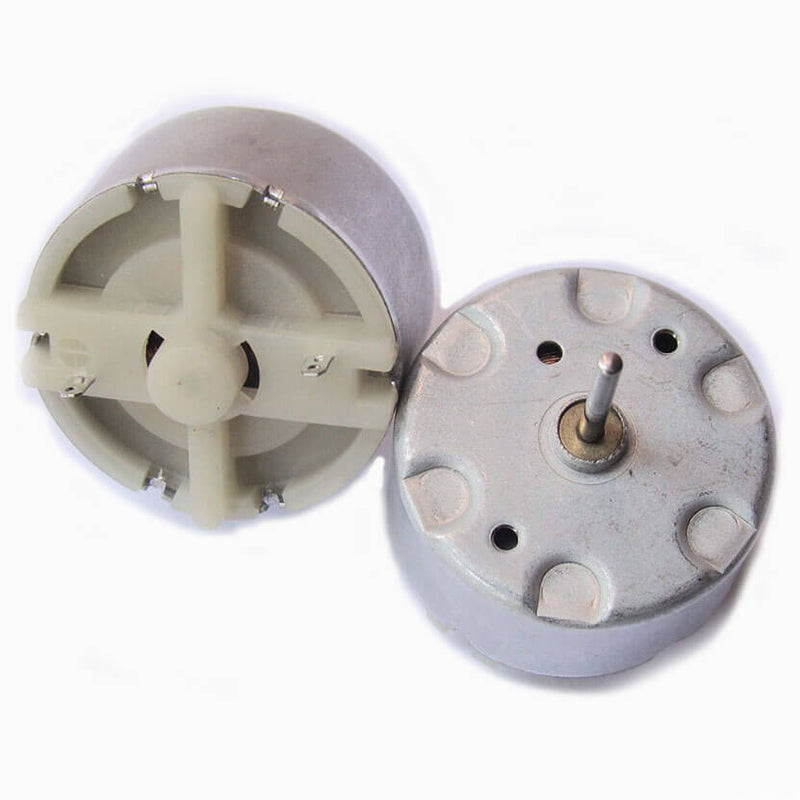 Round DC Motor 12 Volt | Makershala Warehouse (Makerware)