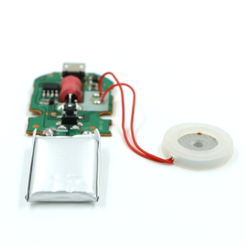 5v DIY Ultrasonic Piezoelectric Humidifier Moisture Atomizing Chip with Micro USB PCB Circuit + Rechargeable LiPo Battery and Micro USB Cable
