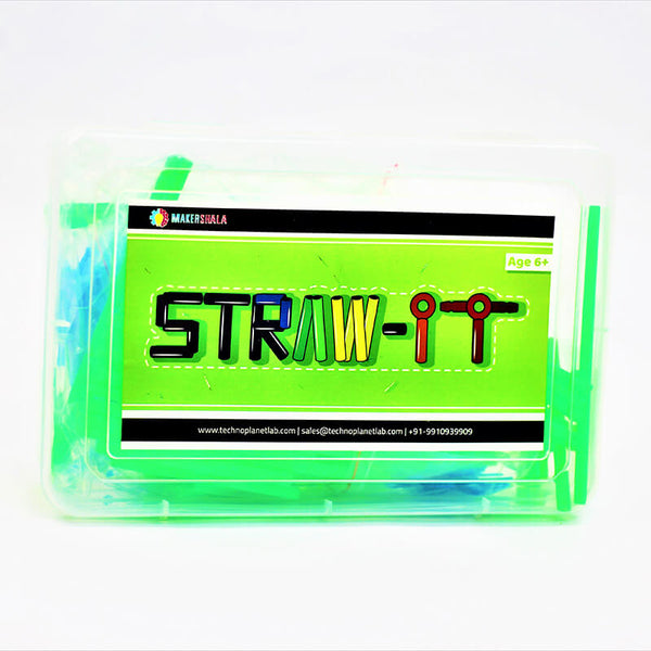 StrawIt Imagination Kit | Makershala Warehouse (Makerware)