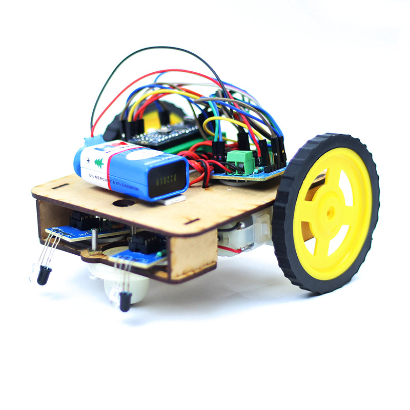 DIY Line Follower Robot | Makershala Warehouse (Makerware)