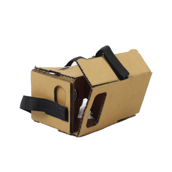 Laser Cut Cardboard VR Box DIY Project