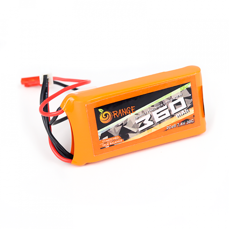 360mah 2S 30C/60C Lithium Polymer Battery Pack (LiPo)