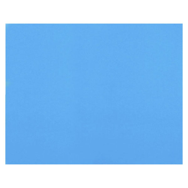 Polypropylene (PP) Sheet, Opaque Blue 1x1 ft